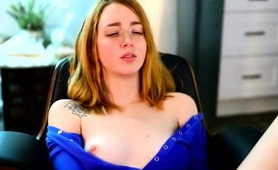 Gorgeous Camgirl Flashes Her Perky Boobs And Pleases Herself
