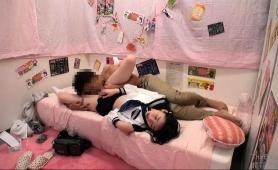 Naughty Oriental Schoolgirls Satisfy Their Desire For Cock
