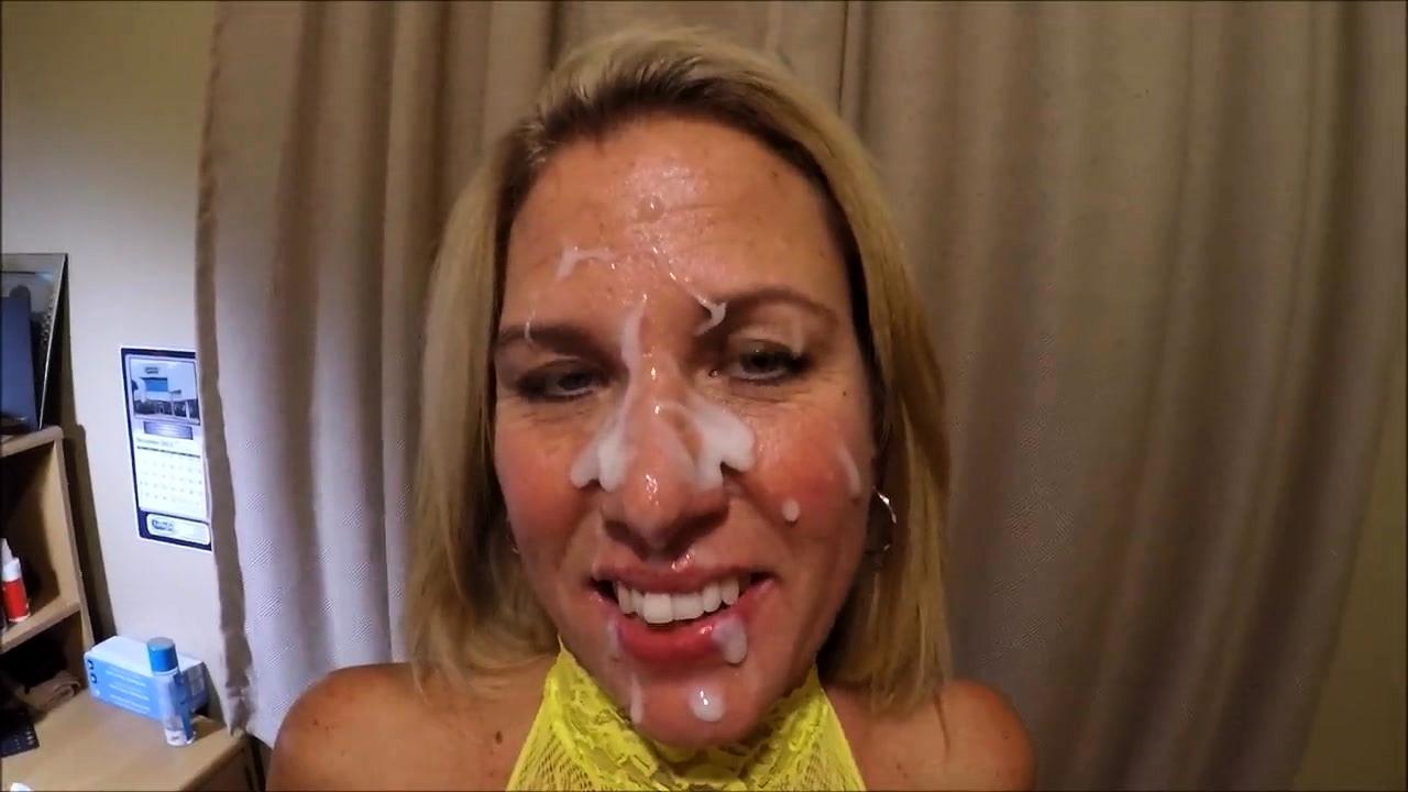 Blonde Teen Blowjob Facial