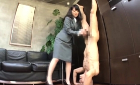 Seductive Japanese Babes Displaying Their Handjob Abilities