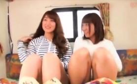 Two Gorgeous Asian Teens Enjoy The Pleasures Of Hardcore Sex
