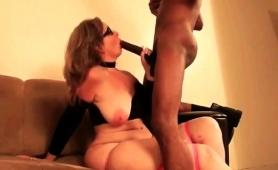 Voluptuous Blonde Milf Has A Black Bull Satisfying Her Needs